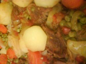 Гювеч с телешко месо