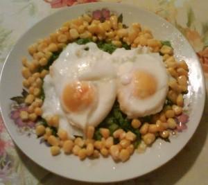Птичи гнезда с яйца от щастливи кокошки