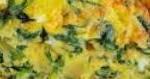 Фритата с картофи и спанак